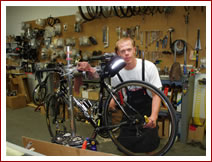 Cedar Bike Shop Owner Brian